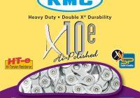 Catena KMC X10E Specifica per e-bikes 10vel. a motore centrale